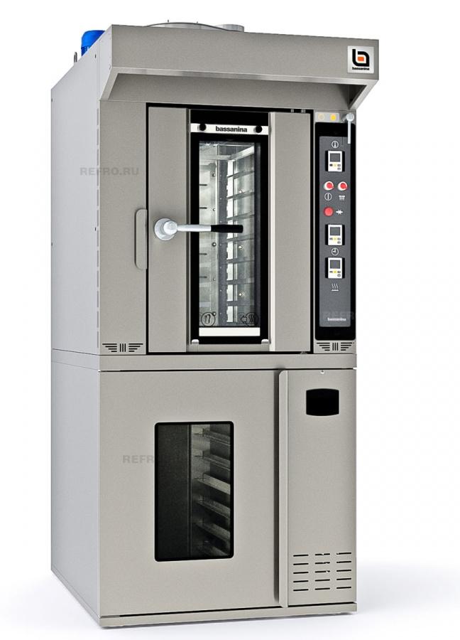 Печь ротационная Bassanina FR Mini E46.10 комплект с расстойкой FR Mini E46.PR