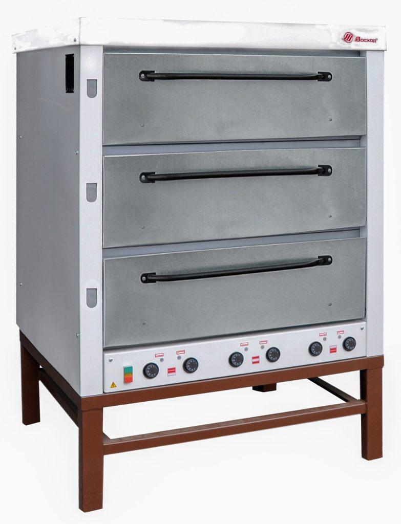 Печь хлебопекарная Восход ХПЭ-500 нержавеющая сталь
